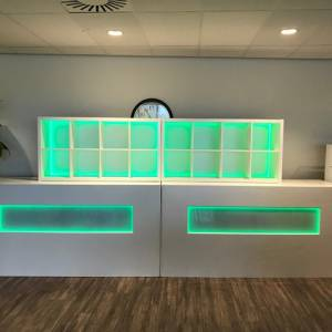 achterkast led bar